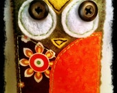 Simply Adorable Owl Cell Phone Case For iPhone.