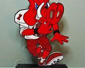 "Arkansas ""Big Red"" Running Back - Shelf Sitter"