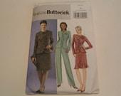 Butterick Pattern B4618 Misses Jacket Skirt Pants