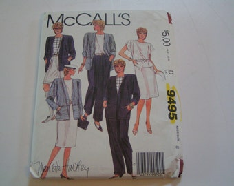 McCalls Pattern 9495 Mariette Hartley Separates