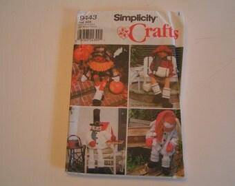 Simplicity Pattern Crafts 9443 Porch Sitters 38 inches Faith Van Zanten