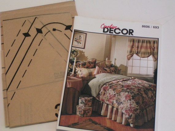 Mccalls pattern 8606 decor bedroom essentials from for Bedroom necessities