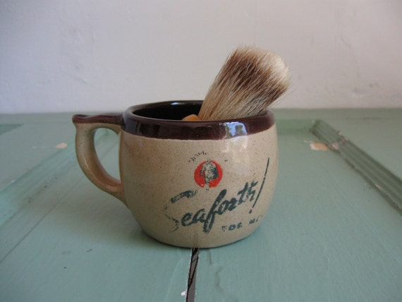 1940s Seaforth Shaving Mug