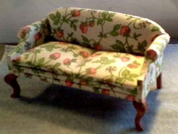 Hand Crafted House Of Miniature Sofa