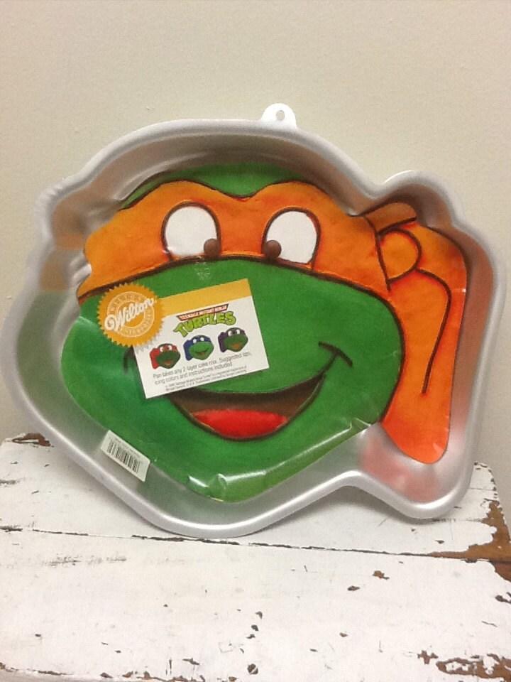 1991 Tmnt Ninja Turtle Wilton Cake Mold