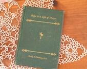 SALE Antique Book Helps to a Life of Prayer Rev. J.M. Manning D.D. 1875