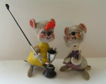 Vintage Annalee Mobilitee Dolls