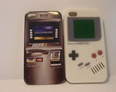 Mini ATM iPhone Case and Gameboy iPhone Case