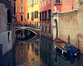 Orange, Yellow, Red - Venice Italy - Fine Art Photograph