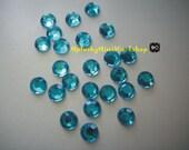 2mm Aquamarine (Ice Blue) Rhinestones 2000pc - High quality