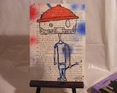 Steve Zissou - Life Aquatic - Bill Murray - Bookpage Art