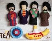 Yellow Submarine Magnets - The Beatles