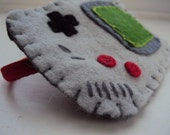 Felt Hand Stitched Gameboy Headband/Hairband