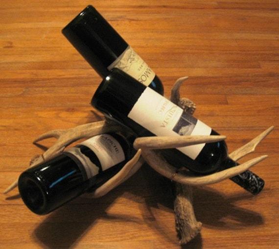 Deer Antler Wine Rack