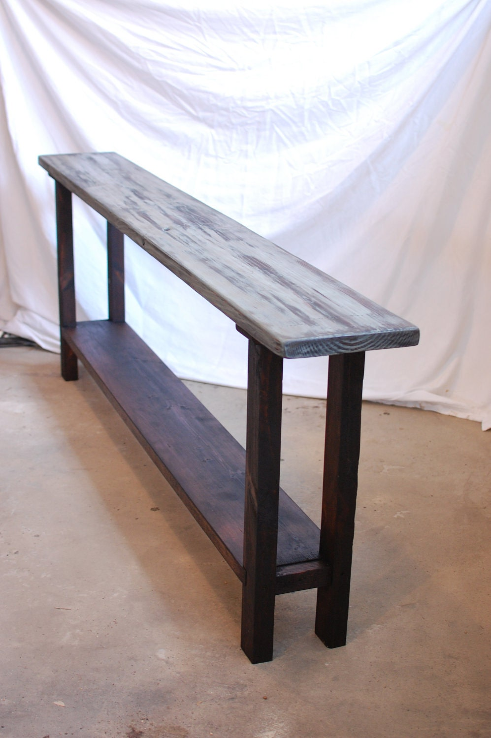 Richard sofa entry hall table for Sofa table 50 inches