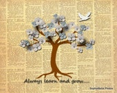 Nursery Art Print,8x10  Print form The Enchanted Tree Collection.