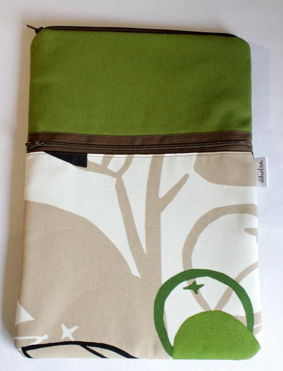 "Macbook Air 11"" Padded Sleeve- Olive Green"