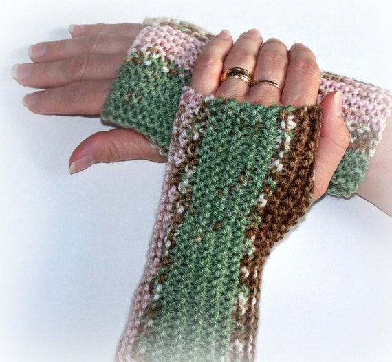 CIJ sale-20% off-Hand knit fingerless gloves