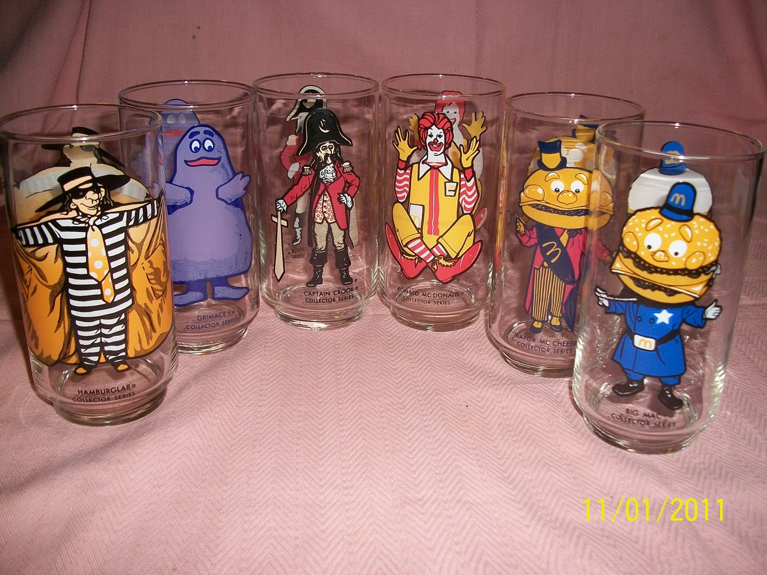 Vintage Mcdonalds Glasses - Mommy Likes Cock-3191
