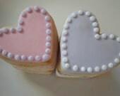 Heart Sugar Cookies - 1 Dozen