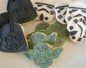 Star Wars - Sugar Cookies - 1 Dozen