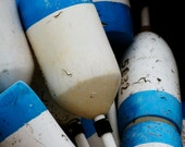 blue buoys
