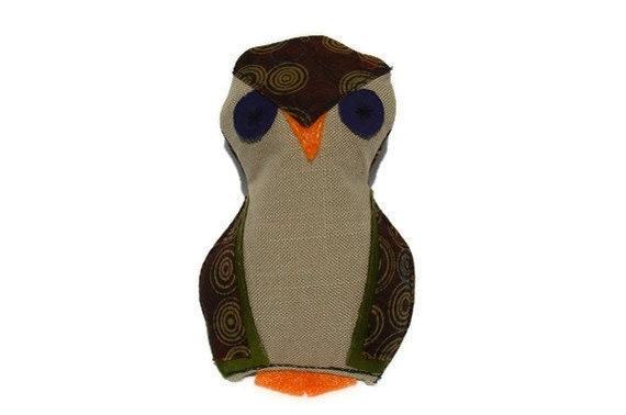 Catnip toy cat owl toy - owl cat toy - bird catnip toy