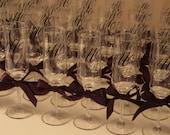 48 Champagne Glasses - Wedding Toasting Flutes