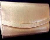 Vintage Gold Handbag Purse by La Regale