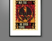 Hunger Games W15.25 H19.25 designed to fit Ribba Ikea frame