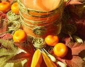 SALE - Easter table display (candle holder/Easter egg jar)