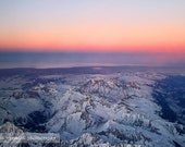 The Alps at Sunset - Fine Art Photograph, 8x12 (A4)