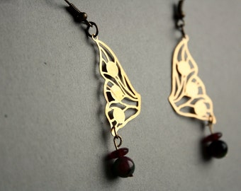 Butterfly wings DANGLE EARRINGS