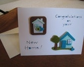 New Home Greeting Card - Congratulations - Welcome to Your New Home