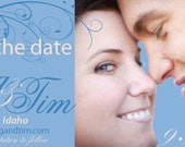 Save the Date Design, Customized Digital File