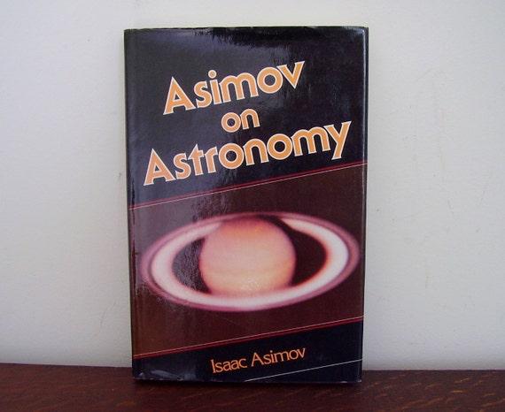 SALE Isaac Asimov Book Asimov on Astronomy 1979 First Edition