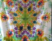 Emerald Eruption Tie Dye Tapestry