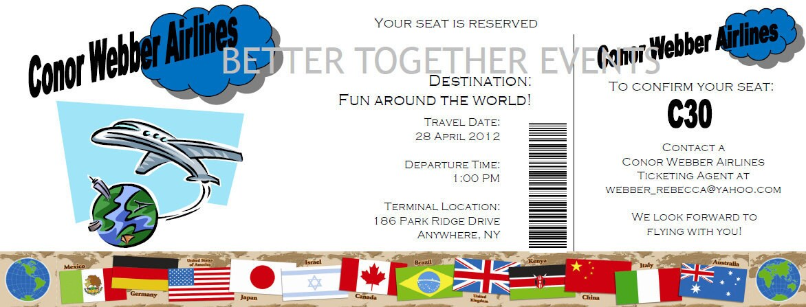 create party invitations