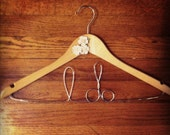 "Personalized bridal hangers - ""I do."""