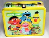 1979 Sesame Street Lunchbox. RESERVED FOR 1PUMPKINCAKE