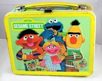 1979 Sesame Street Lunchbox