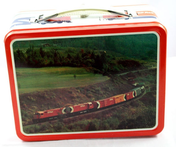 Canadian Pacific RailRoad LunchBox