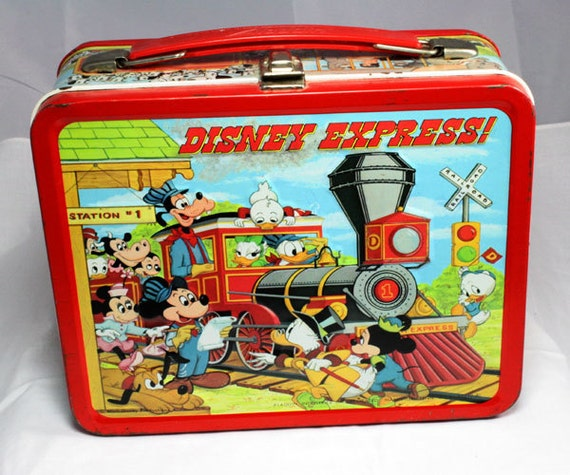 1979 Disney Express Lunchbox