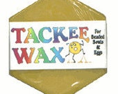 Tackee Wax for Huichol beading (Two Colors!)