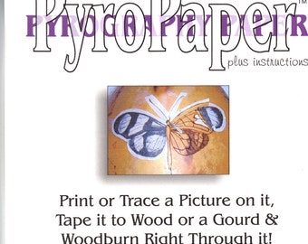 Pyropaper for Woodburning