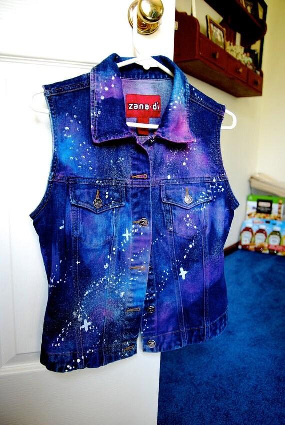 Galaxy Sleeveless Jacket