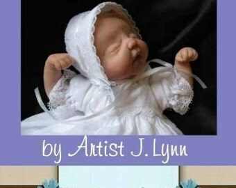 How To Sculpt a OOAK Baby - Head Tutorial - .PDF  Booklet by J.Lynn of Blessed Beginnings Art Dolls
