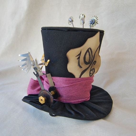 Tiny Top Hat: Steampunk Mad Hatter Version 2