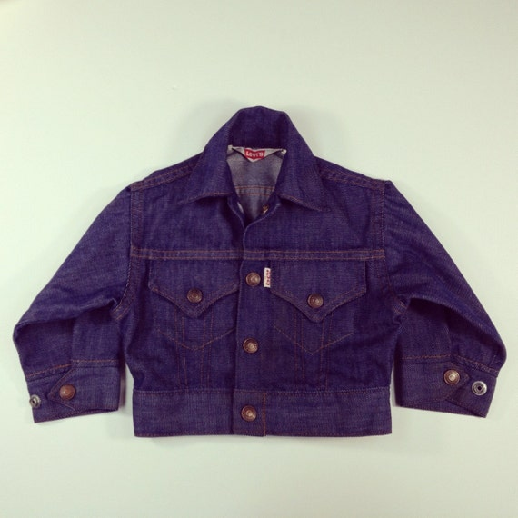Vintage Levi's Jean Jacket - 70's/80's - 18-24 mos