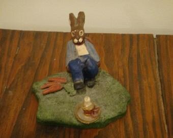 Peter Rabbit Figurine